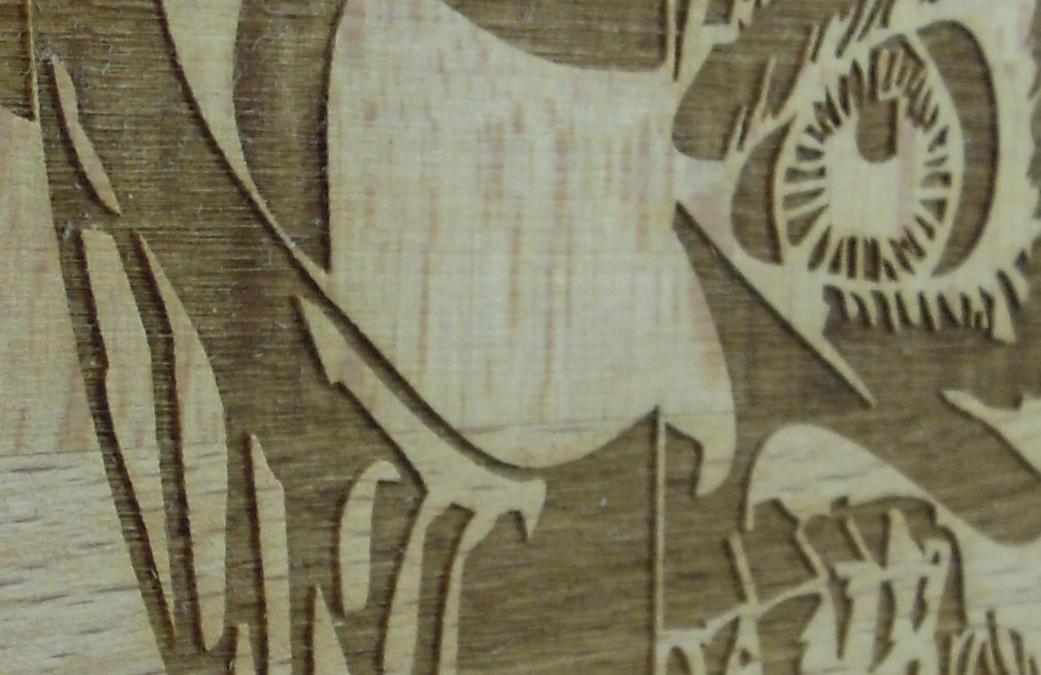 Holzgravuren
