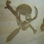 Holzgravur Logo