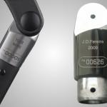 Alu-Teil mit Industriegravur per Lasergravur