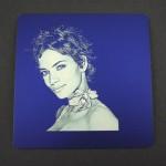 Fotogravur per Lasergravur