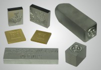 Produkte Stahlstempel, Prägestempel, Maschinenstempel, Prägewerkzeug