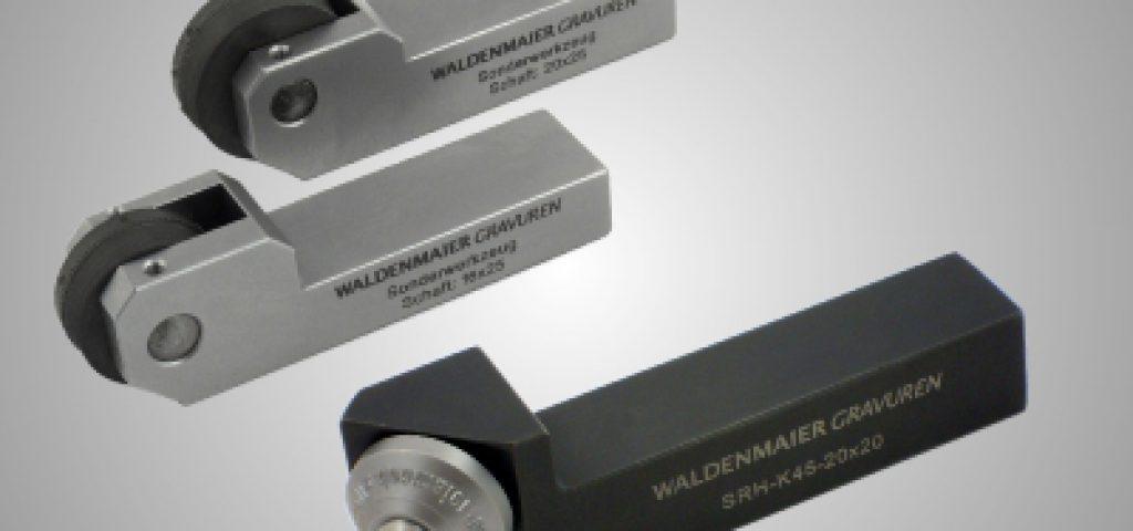 Drehmaschinen Werkzeughalter für Prägerollen