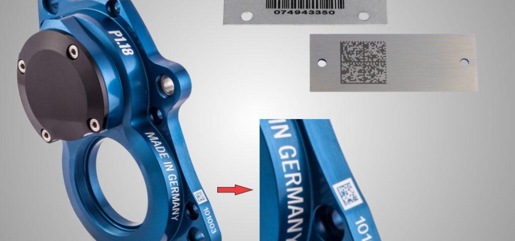 Barcode Lasergravur, Industriegravur Barcode
