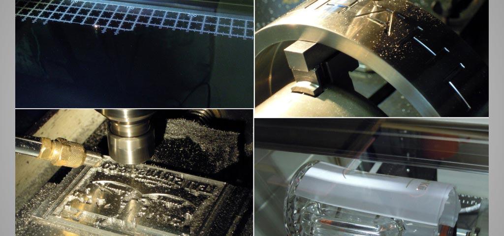 Fräsgravuren, Industriegravuren, Lasergravuren